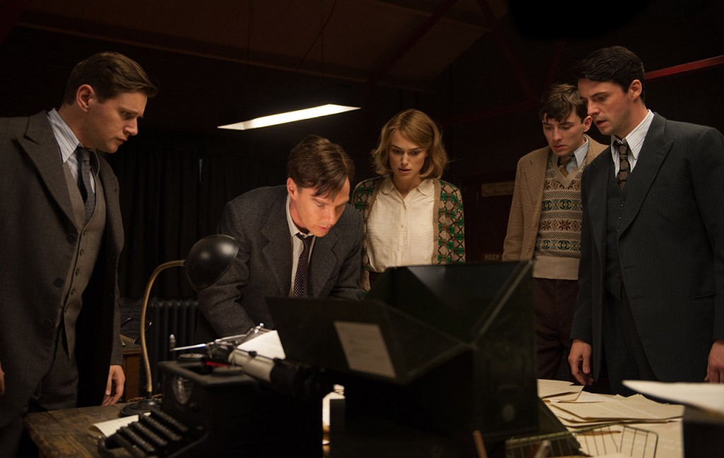 """The Imitation Game"" received eight nominations, including best picture, best actor (Benedict Cumberbatch), best actress in a supporting role (Keira Knightly) and best directing. Photo courtesy The Weinstein Co."