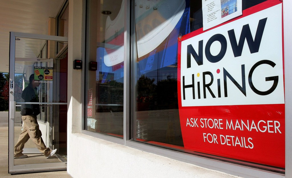 Employers are still looking to fill positions even though the financial markets have been volatile in recent weeks. Photo ...
