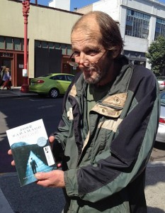 Ben Hodgson was a homeless veteran when Laura Moulton, the founder of Street Books, met him in Portland. Photo by Laura Moulton