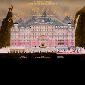 """The Grand Budapest Hotel"" was nominated for a total of nine Academy awards, including best picture. It marks the first time that director Wes Anderson has been nominated for best director. Anderson was also nominated for best original screenplay. Poster courtesy Fox Searchlight."