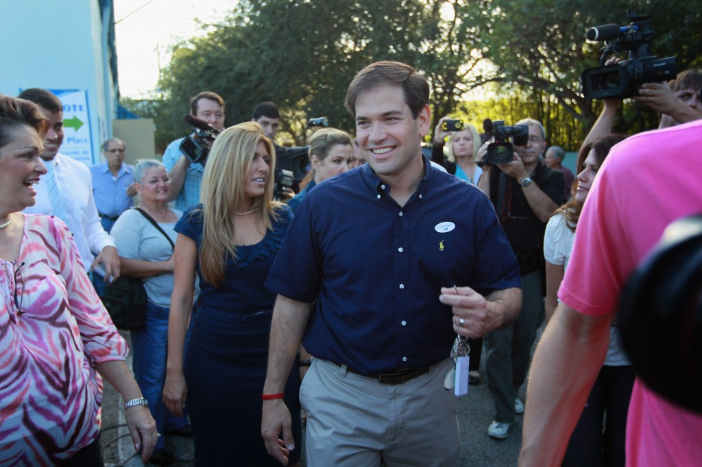 Marco Rubio Casts His Vote On Election Day