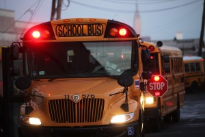 File photo of school buses by Getty Images.