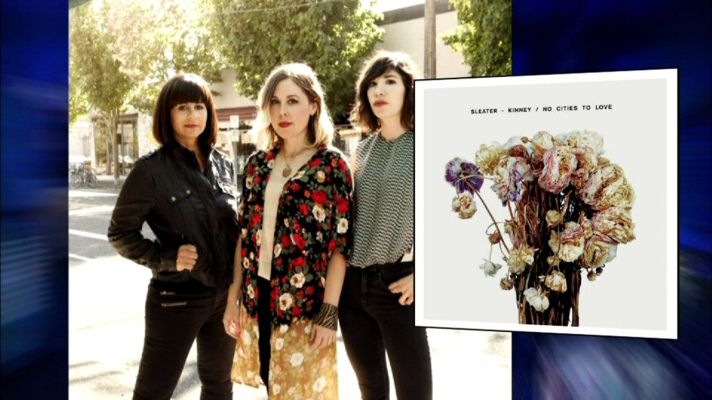 Sleater-Kinney returns with new songs to fight stereotypes