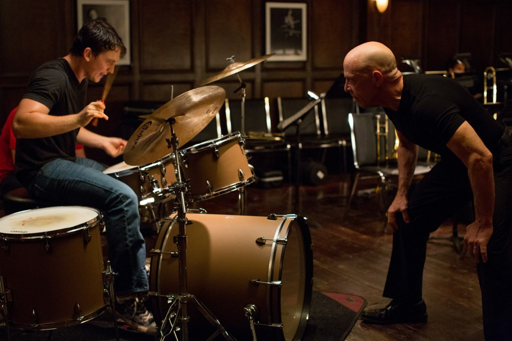 """Whiplash"" received five nominations, including best picture, best actor (J.K Simmons), best adapted screenplay. Photo courtesy of Sony Pictures Classics."