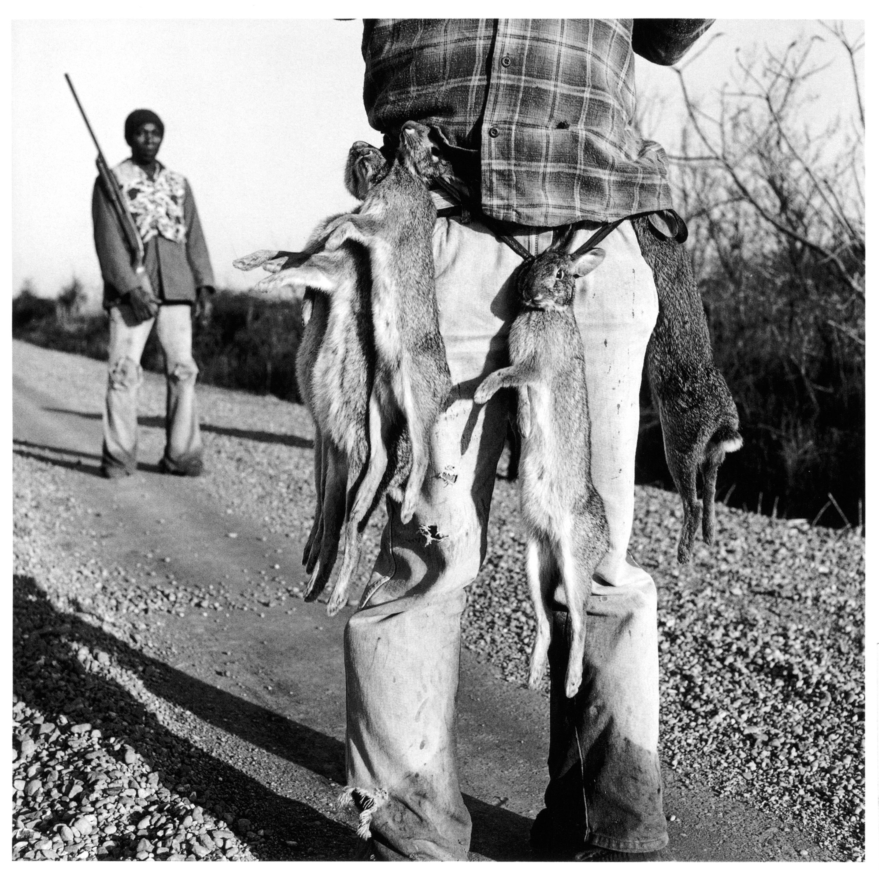 Rabbit Hunters, Lowndes County, Mississippi, 1980. Photo by Birney Imes.