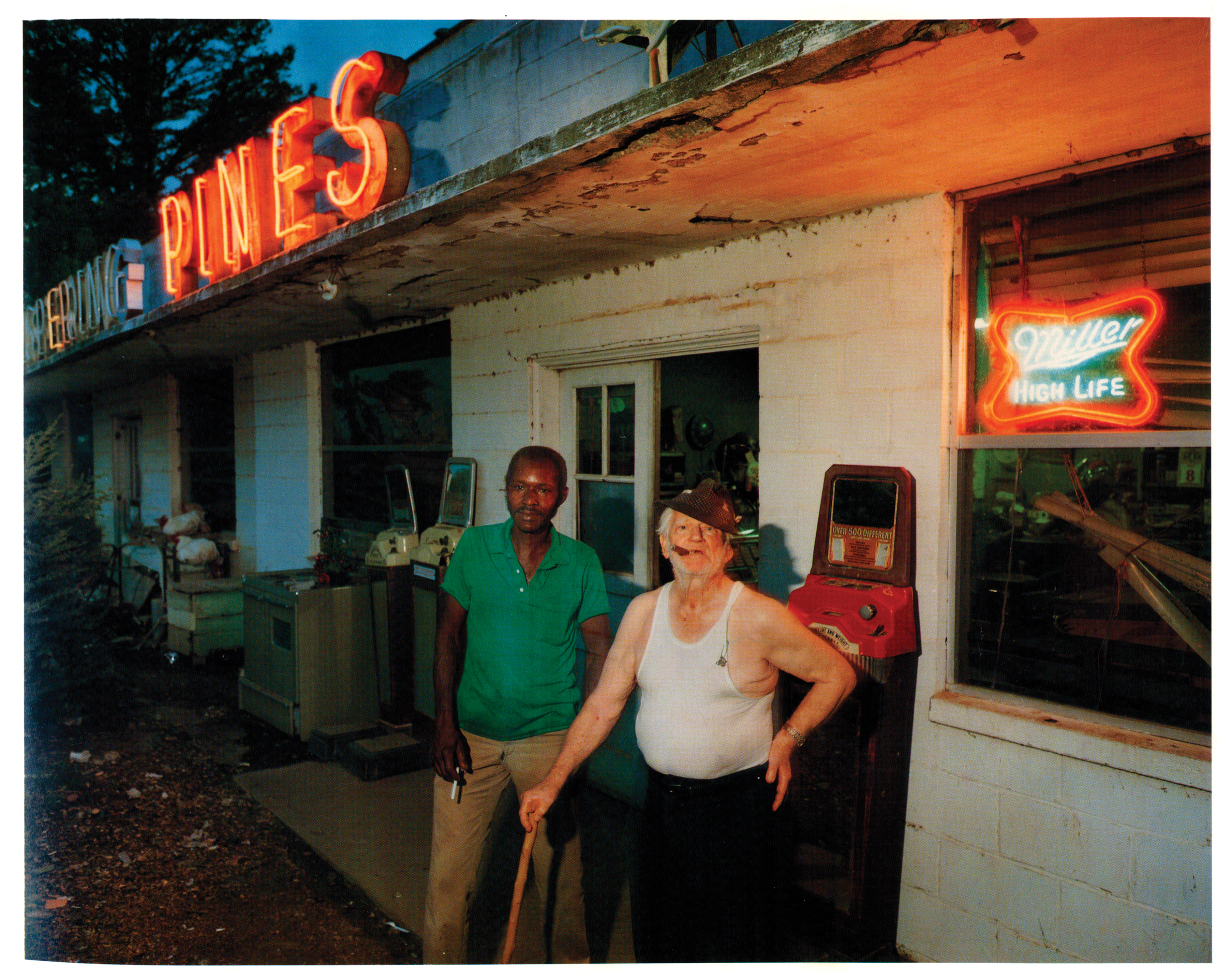 Blue and T.P., Lowndes County, Mississippi, Summer 1986. Photo by Birney Imes.