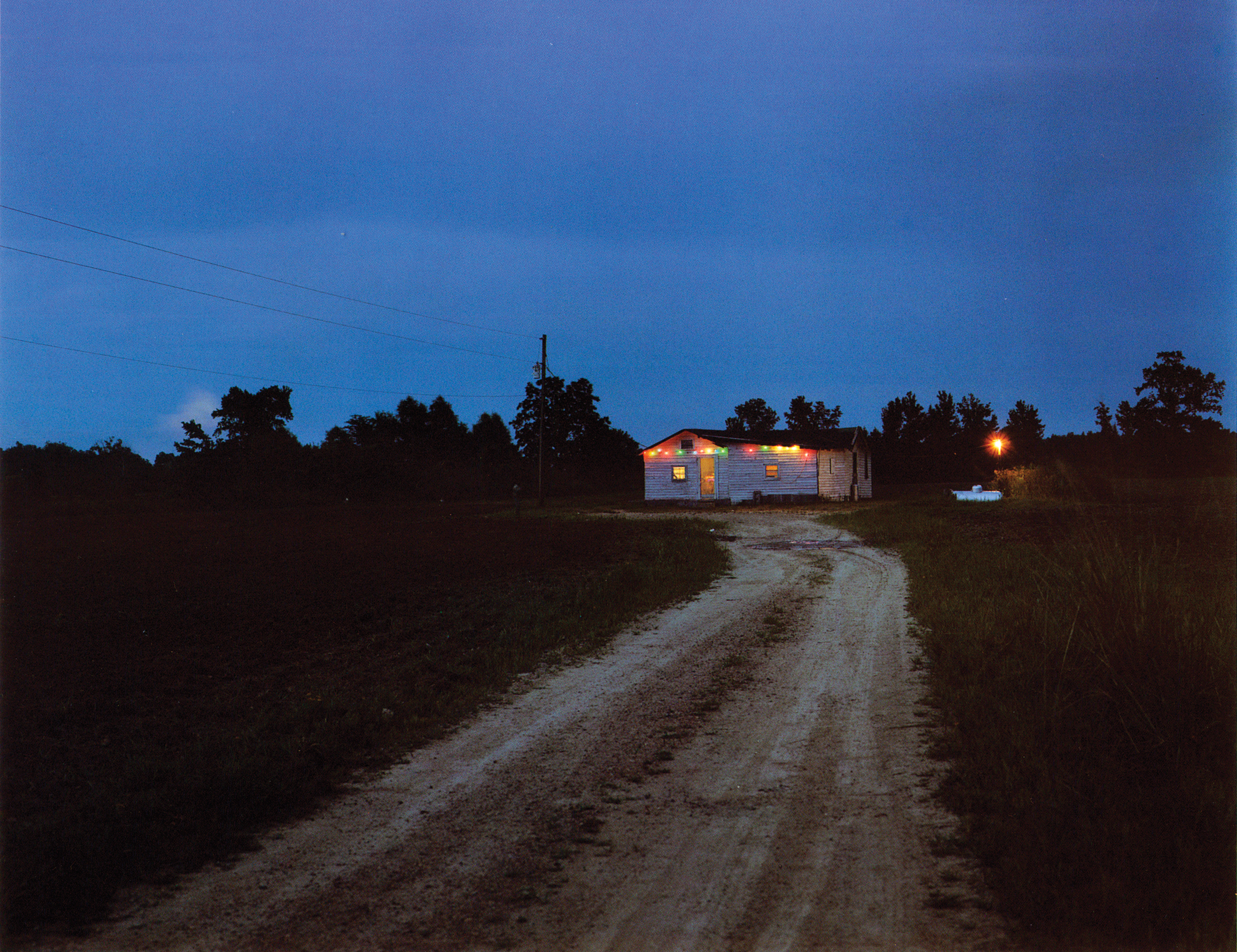 Turk's Place, Leflore County, 1989. Photo by Birney Imes.