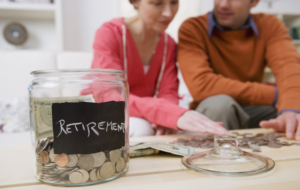 Most Americans are not on target to have adequate retirement savings by the time they are 67 years old. Photo by Jupiterim...