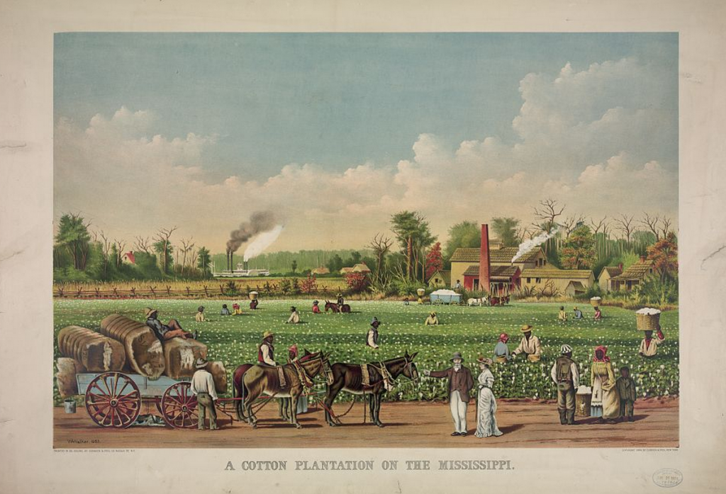 America's first big business? Not the railroads, but slavery