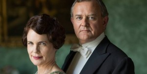 Photo of Lord Grantham and the Countess of Grantham courtesy of PBS.