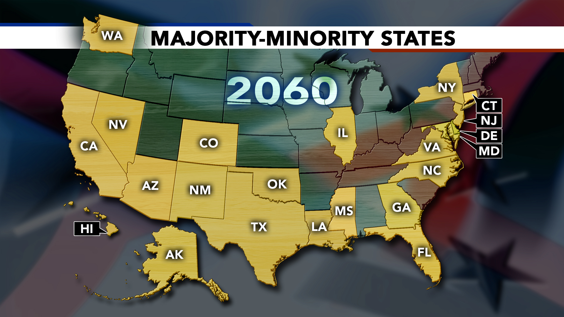 Immigration U.S. map 2