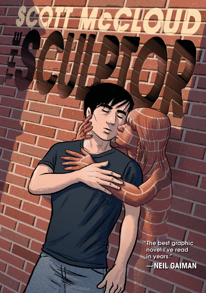 """Comics artist Scott McCloud released """"The Sculptor,"""" his first work of fiction in over 30 years."""