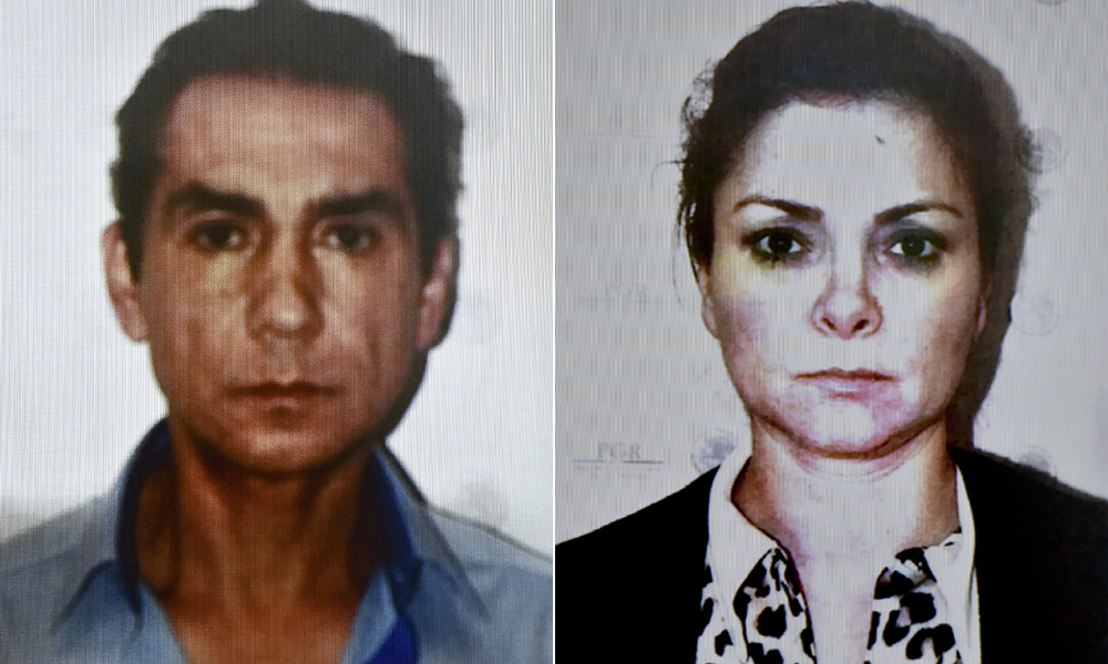 Ex-fugitives Jose Luis Abarca, a former Mexican mayor, and his wife Maria de Los Angeles Pineda are accused of ordering a police attack that left 49 people dead, mostly college students who went missing in the town of Iguala in Guerrero state, Mexico, in September. Photos by Yuri Cortez/AFP/Getty Images