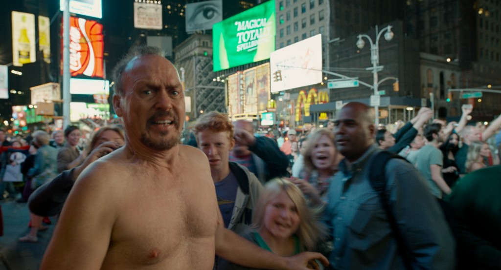"Michael Keaton as Riggan in ""Birdman."" Photo by Twentieth Century Fox"