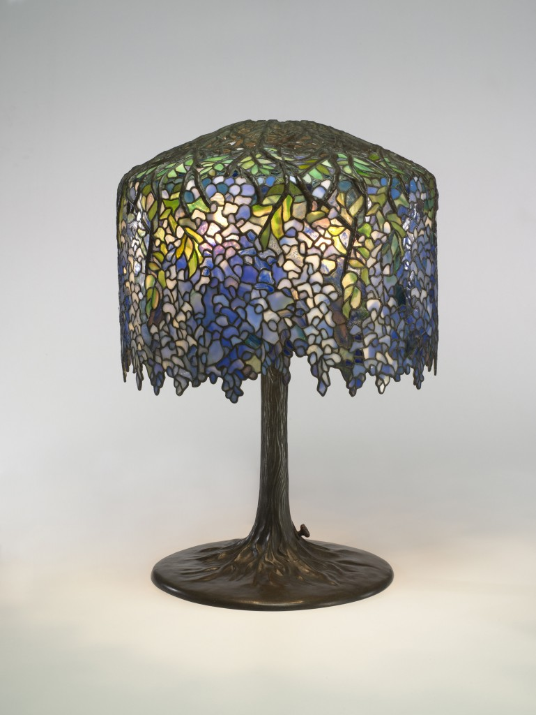 Capturing tiffanys color and light pbs newshour wisteria table lamp mozeypictures Image collections