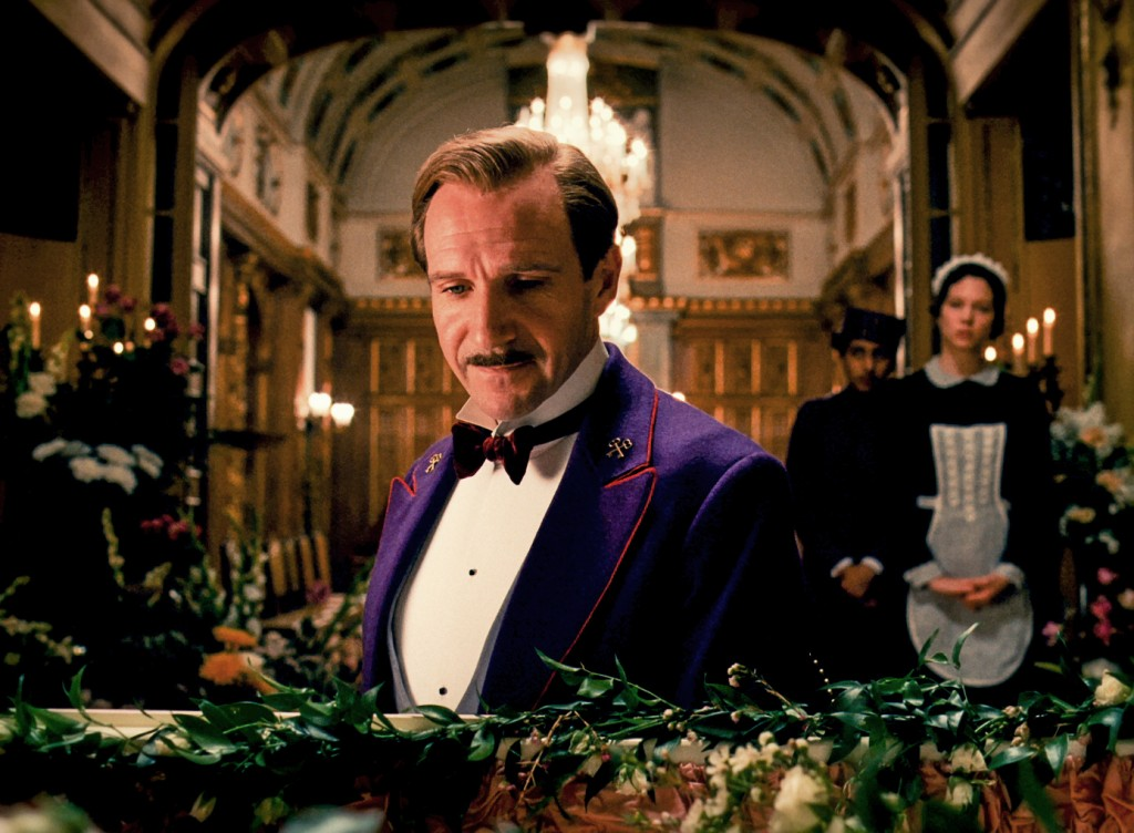 """Ralph Fiennes in """"The Grand Budapest Hotel."""" Photo by Fox Searchlight"""