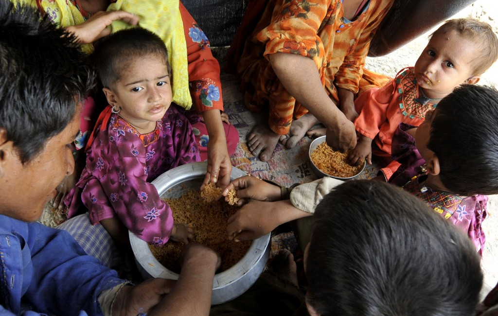 Depending on Food Aid Pakistan's prime minister has said 20 million people may be in need of aid. AFP/Getty Images