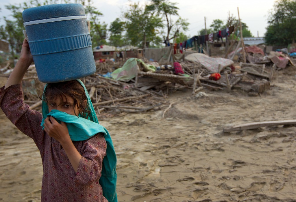 Clean Water Needed Many people no longer have access to clean water, creating a major health risk. AFP/Getty Images