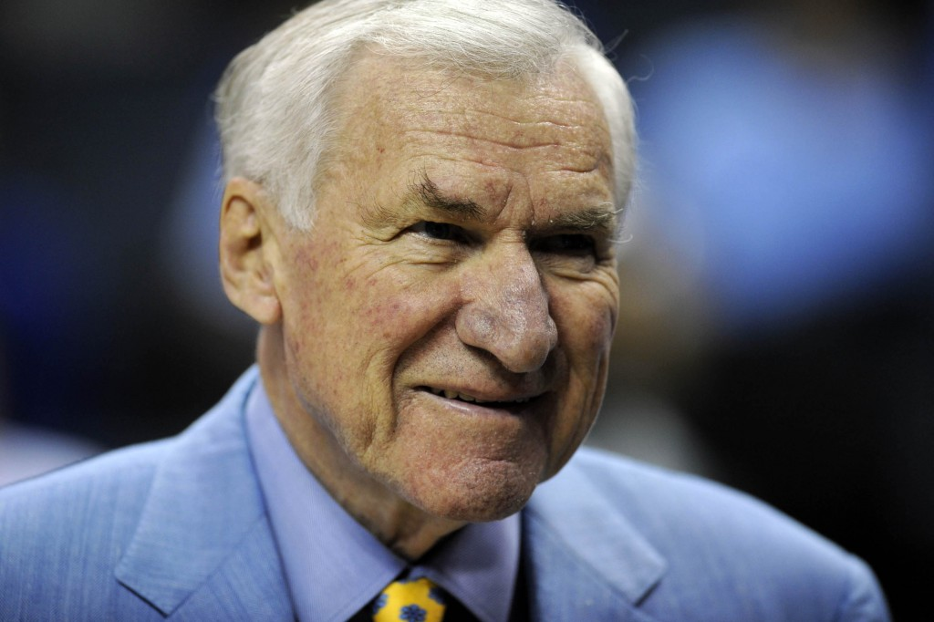 Late Unc Coach Dean Smith Left  Each To Former Players For Dinner Pbs Newshour
