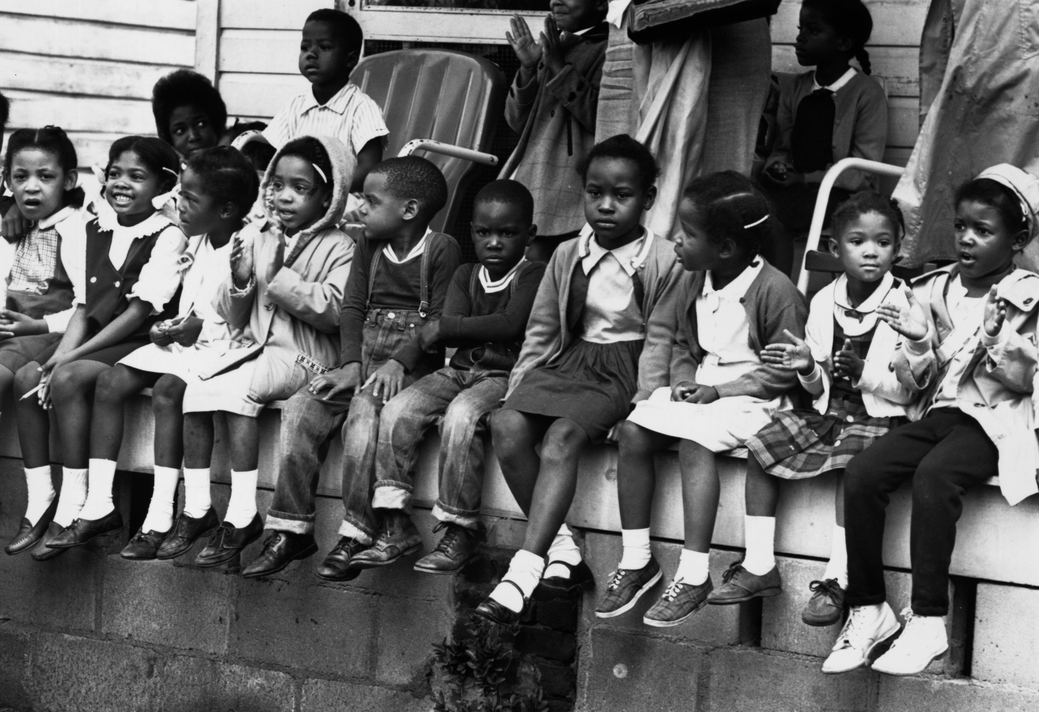 March 1965 Children Watching A Black Voting Rights In Alabama Dr Martin Luther