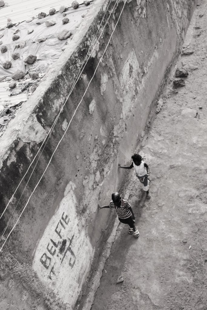 Children in an alleyway in Bamako, Mali's capital. Mali ranks among the world's poorest countries – almost half the population lives below the poverty line. As a result of the conflict, food insecurity remains a critical issue and malnutrition is one of the leading causes of death among children under the age of five. Photo by Molly Raskin