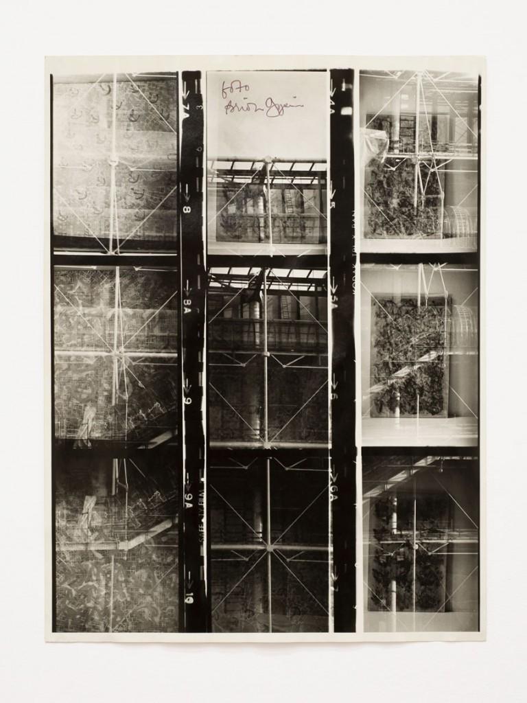 Brion Gysin, The Last Museum, 1974. Photo-montage, 15 3/4 x 12 in (40 x 30.6 cm). Galerie de France, Paris