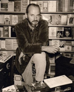 Lawrence Ferlinghetti, pictured in 1959, at the age of 40. Photo courtesy of City Lights Bookstore