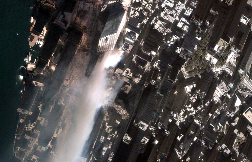 September, 2001 Google Earth, GEOEYE