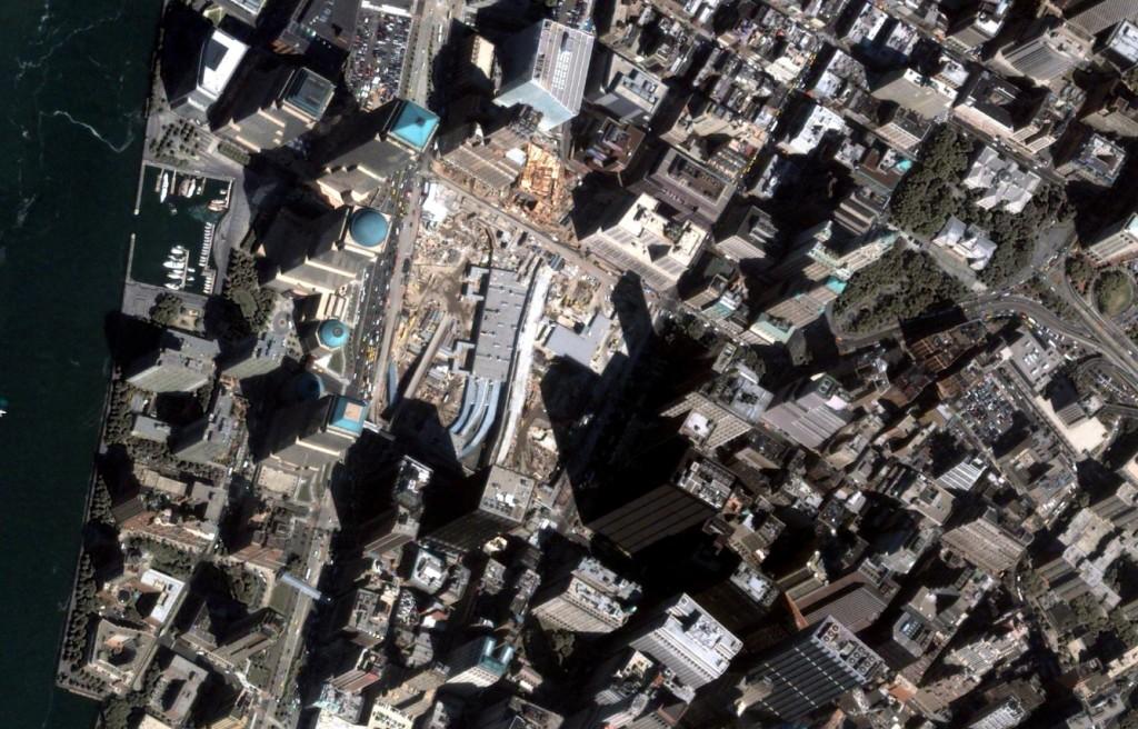 September, 2003 Google Earth, GeoEye