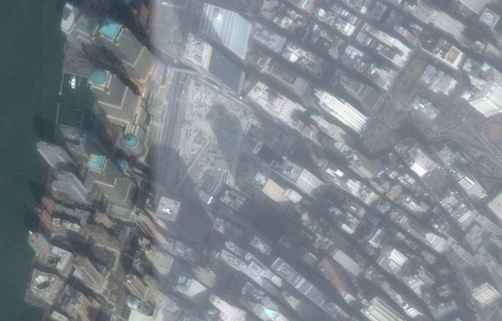 February, 2005 Google Earth, GeoEye