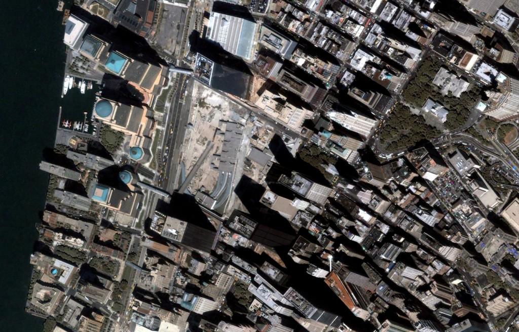 August, 2005 Google Earth, GeoEye