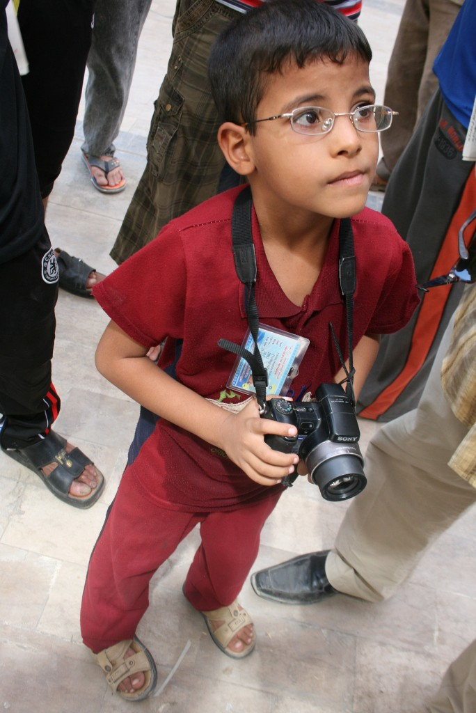Kamar Hashem Mohammed Al Nomane At age 6, Kamar is one of the youngest photographers in Iraq.