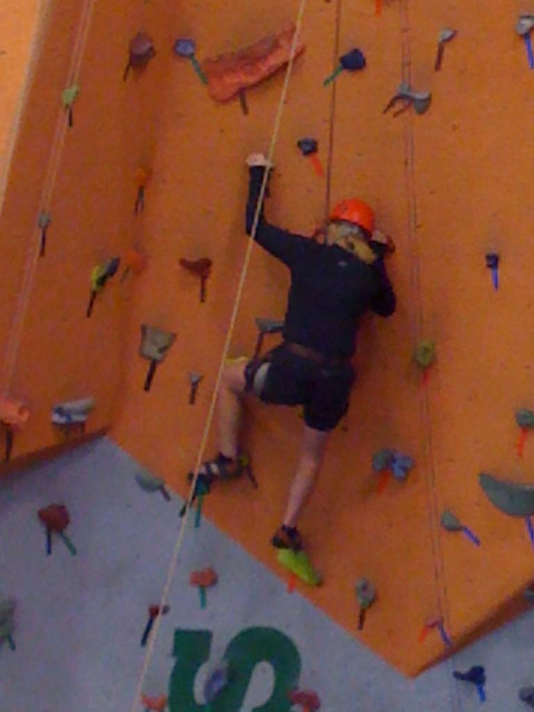 Rock-Climbing Wall By Ray Suarez