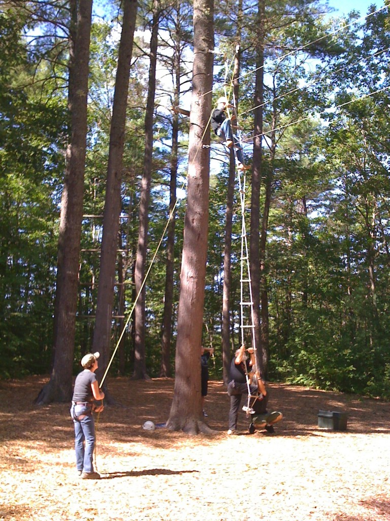 High Ropes Course By Ray Suarez