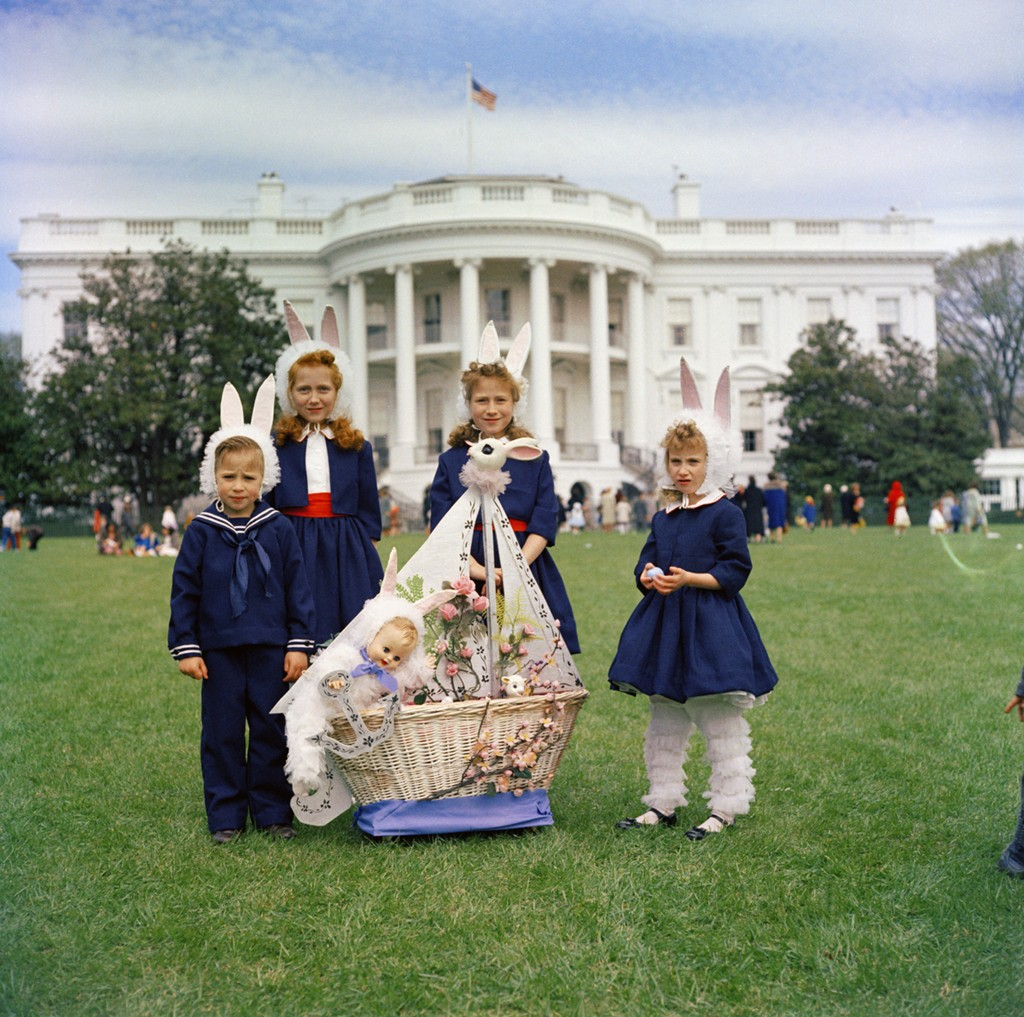 Photos: the White House Easter Egg Roll throughout history ...