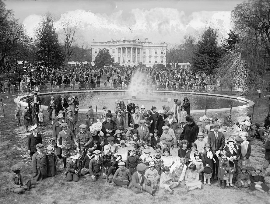 Easter at the White House, 1926 (Photo credit: National Photo Company Collection, Library of Congress)