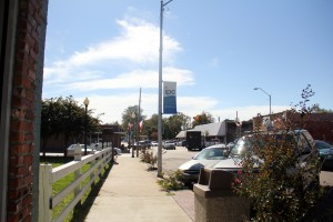 Downtown Indianola, Miss., which mayor Steve Rosenthal says is still steeped in racial mistrust and poverty but could benefit from intense, wraparound services. (Photo: Jackie Mader)
