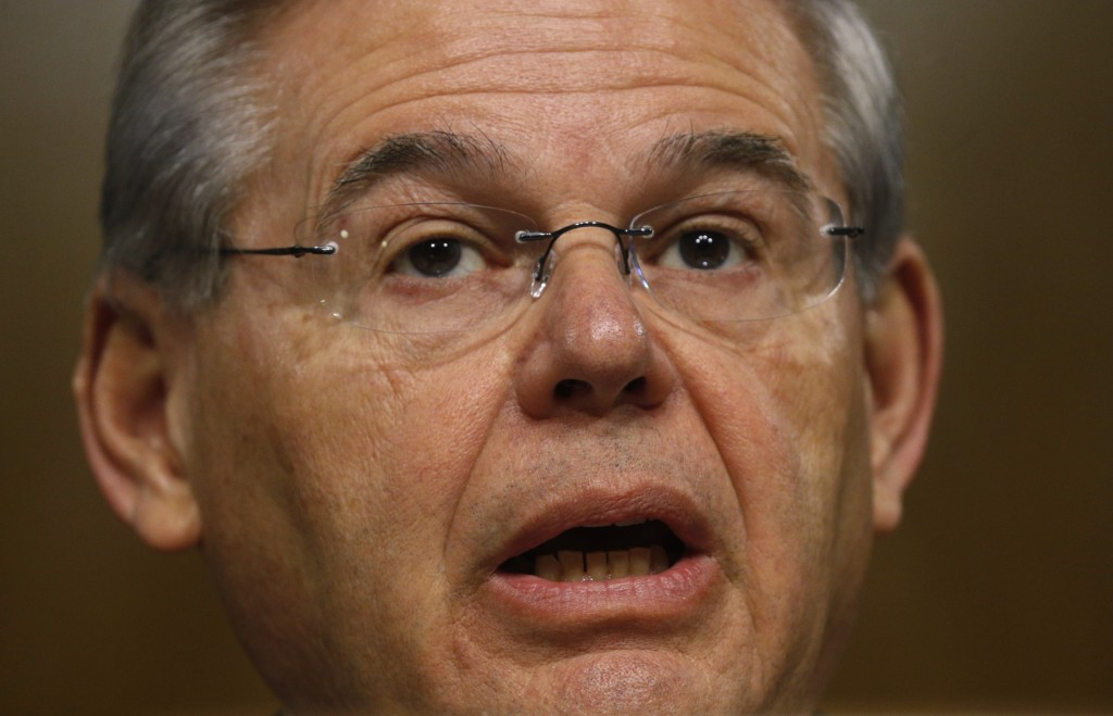 Democratic New Jersey Sen. Bob Menendez was indicted with corruption charges on April 1, 2015. Photo by Kevin Lamarque/Reuters