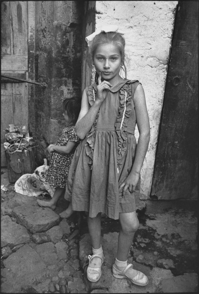 Beautiful Emine posing, Trabzon, Turkey, 1965. Photo by Mary Ellen Mark