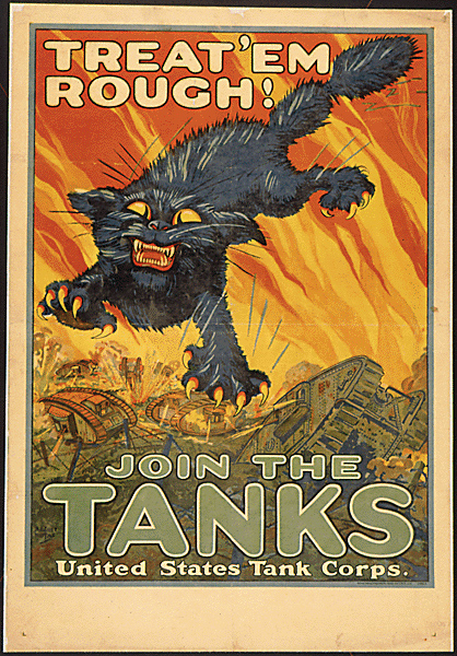 Tanks Corps poster