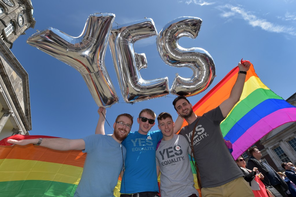 says yes to legalizing gay marriage in historic says yes to legalizing gay marriage in historic referendum newshour