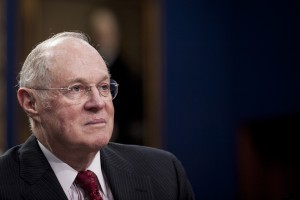 File photo of Supreme Court Justice Anthony Kennedy by Pete Marovich/Bloomberg