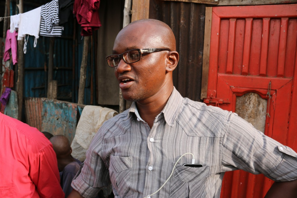 Umaru Fofana Esquire, one of the most famous journalist's in West Africa, was the team's fixer for the trip.