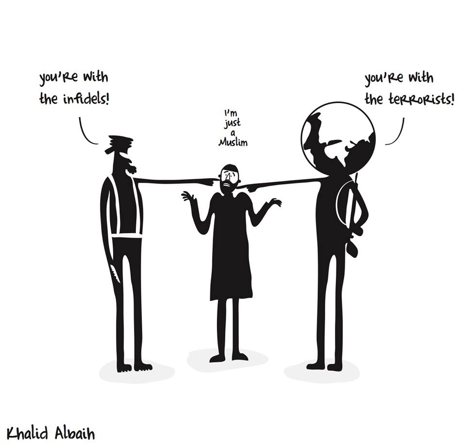 Muslim cartoon