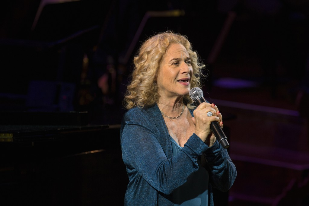 Singer Carole King. Photo by Lucas Jackson/Reuters