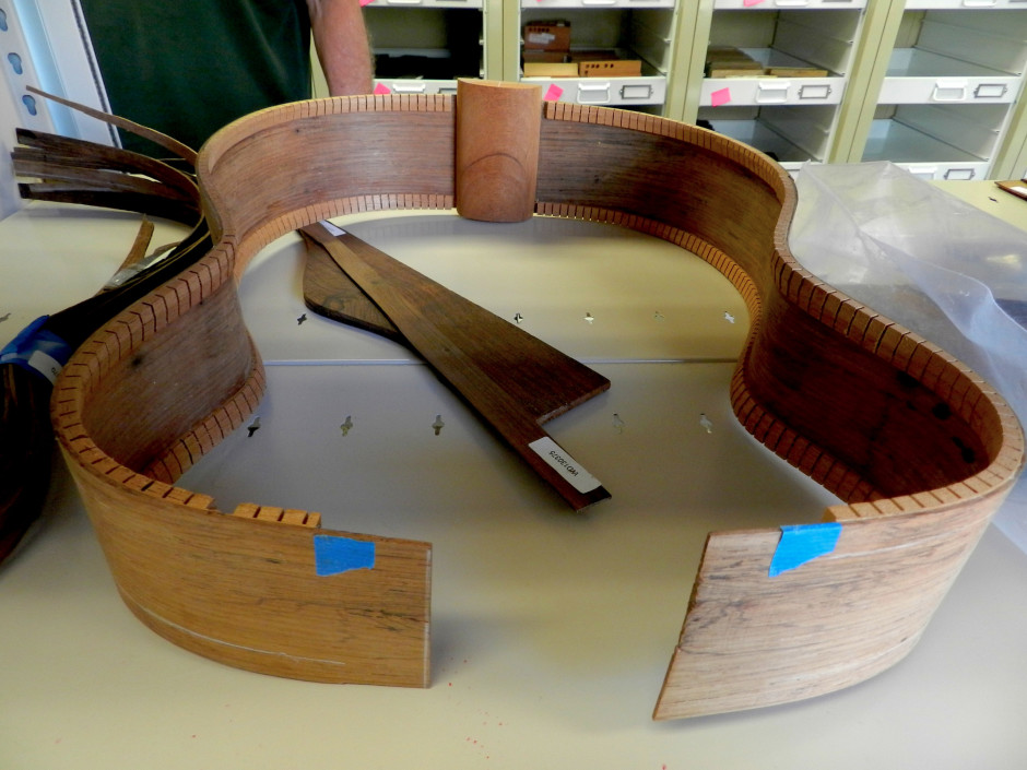 Endangered rosewood species are prized for making musical instruments like guitars. Photo by Jes Burns, OPB/EarthFix