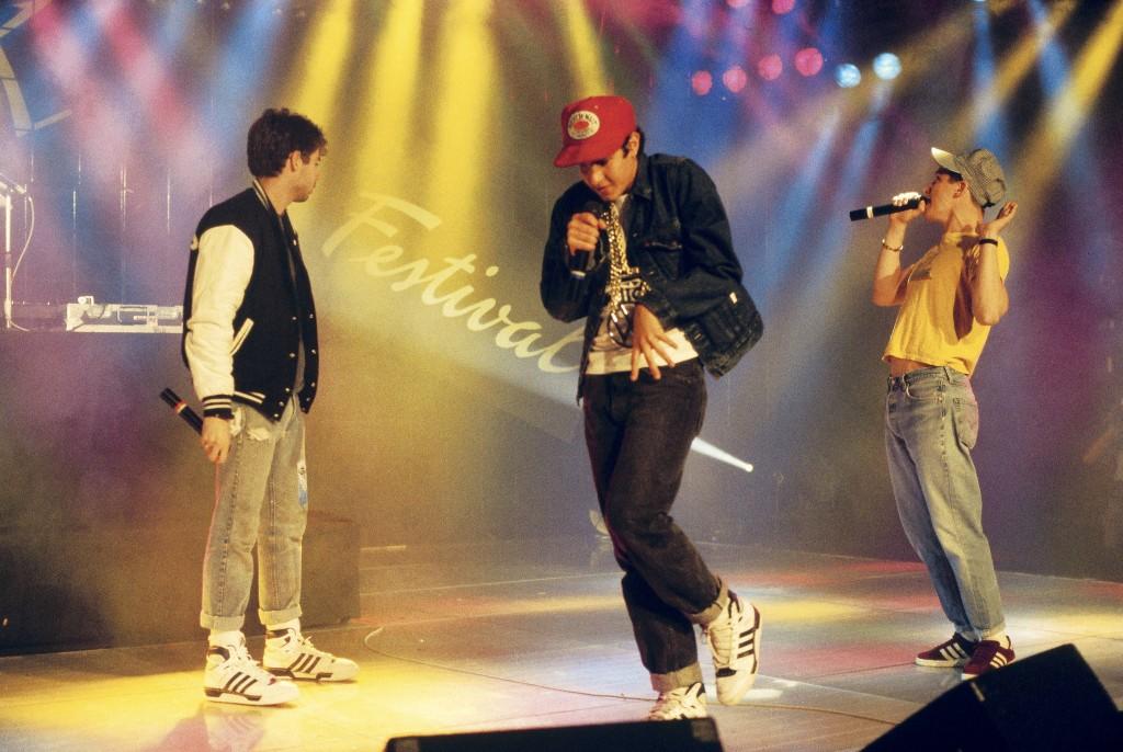 Beastie Boys at Montreaux Rock Festival