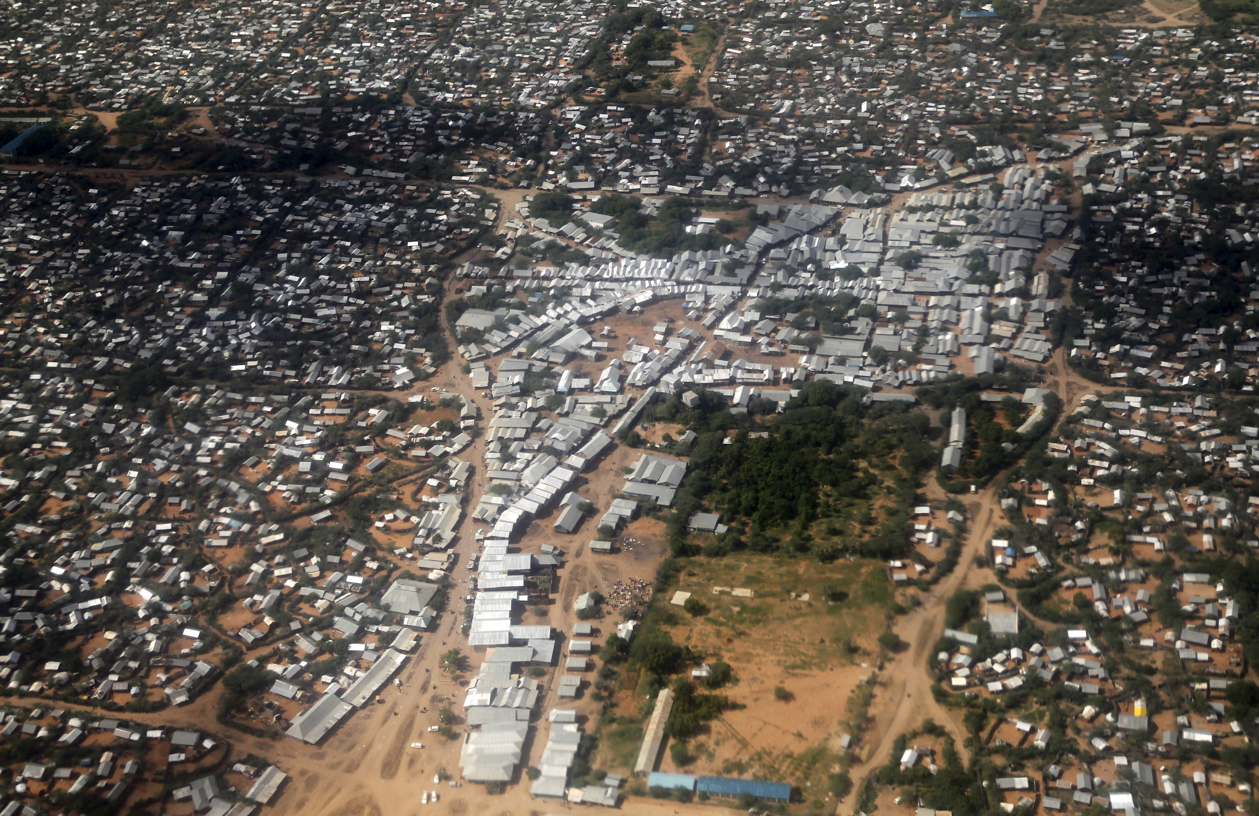 Dadaab is the largest refugee settlement in the world. It hosts about 350,000 refugees in five separate camps. About 95 percent of the inhabitants are Somali. Photo by Thomas Mukoya/Reuters