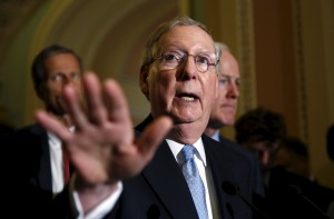 File photo of Senate Majority Leader Mitch McConnell, R-Ky., by Kevin Lamarque/Reuters