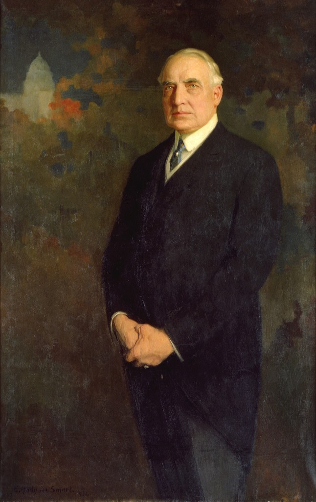 Official Presidential Portrait of Warren G. Harding
